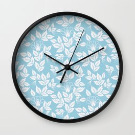 Leaves Pattern 10 Wall Clock