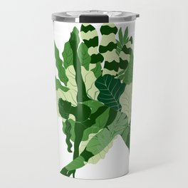 triangle pose Travel Mug