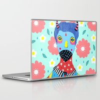 shinee Laptop & iPad Skins featuring Make Me Colourful by Saif Chowdhury