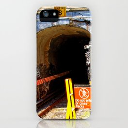 Kings Hwy Subway Station In Brooklyn, New York iPhone Case
