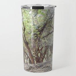 Perspective of Sacsayhuaman trees Travel Mug