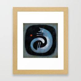 COILED Framed Art Print