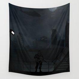 Metal Gear Solid - Big Boss | Warriors Landscapes Serries Wall Tapestry