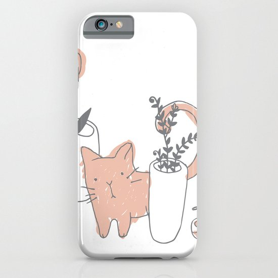Fatty cat iPhone & iPod Case