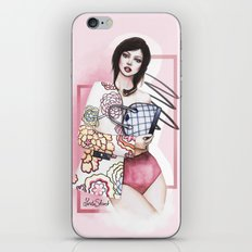 Flowers are always in fashion iPhone & iPod Skin