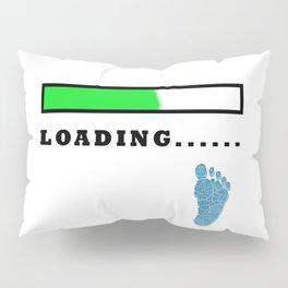 Baby Loading Boy Pillow Sham