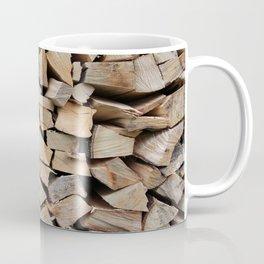 Pile of Wood Coffee Mug