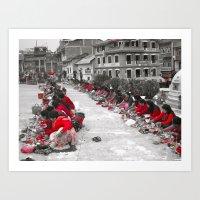 The Ladies of Nepal Art Print