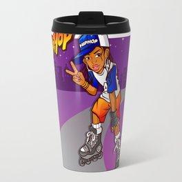 Hip Hop Teenage Skater Cartoon Travel Mug