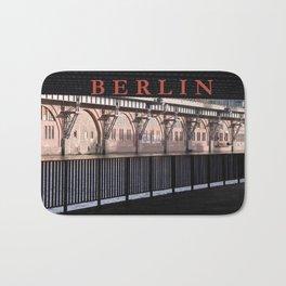 BERLIN BRIDGE Bath Mat