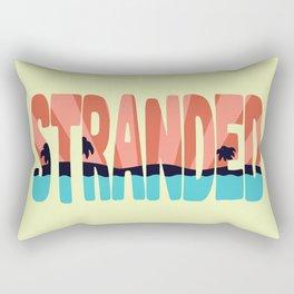 STR\NDED Rectangular Pillow