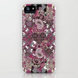 Mature Bush of Pink Love iPhone Case