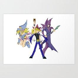 Yugioh: Duel Art Print