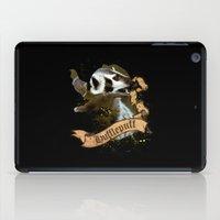 hufflepuff iPad Cases featuring Hufflepuff by Markusian