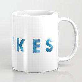 Yikes Watercolor Coffee Mug