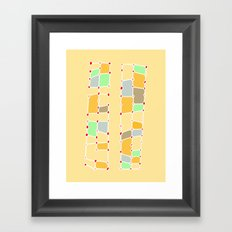 Indoor Constellation  Framed Art Print