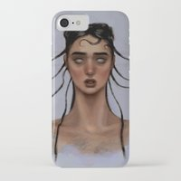 fka twigs iPhone & iPod Cases featuring FKA Twigs by Alexander Scott