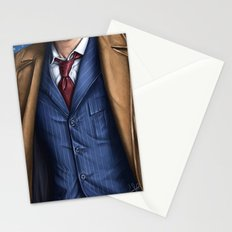 The Tenth Doctor Stationery Cards