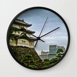 Japan - Tokyo Imperial Palace Wall Clock