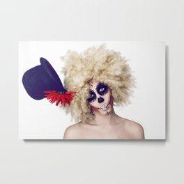 Keep you hat on Metal Print