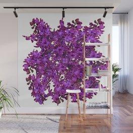 """""""Purple Hyacinth"""" Garden Queen Floras Wall Mural"""