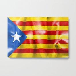 Estelada Flag Metal Print