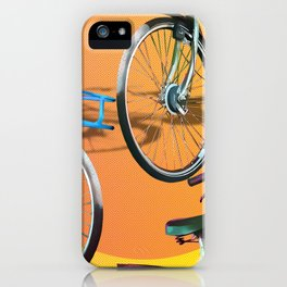 love my Bicycle iPhone Case