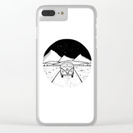 On The Road Clear iPhone Case