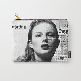 Reputation Taylor Cover Swift Carry-All Pouch