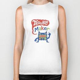 Trouble Maker Biker Tank