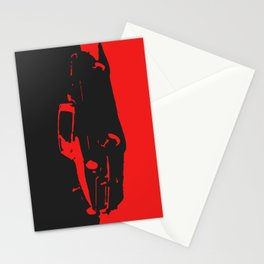 MGB, Red on Black Stationery Cards