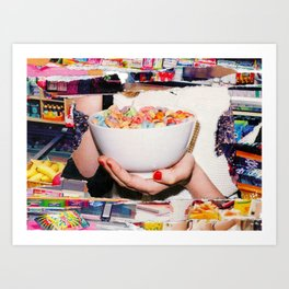 Pop Goes the Cereal Art Print