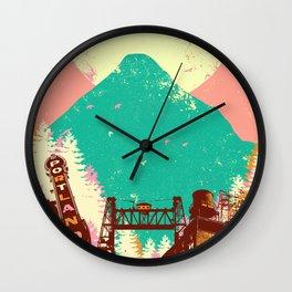 PORTLAND MOON Wall Clock