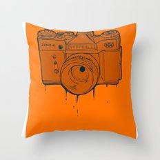 Zenit-E Throw Pillow