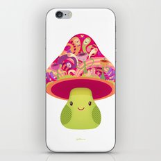 Mrs. Shroom iPhone Skin