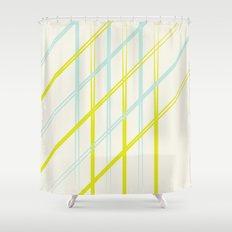 Diagonals  Shower Curtain