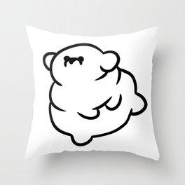 Chubby Doggo Throw Pillow