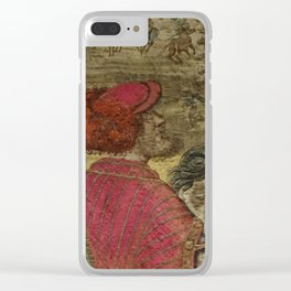 Hunt of Maximilian 3 Clear iPhone Case