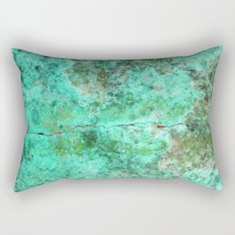 Moment of Epiphany: Emerald  Jewel Version Rectangular Pillow