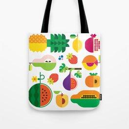 Fruit Medley White Tote Bag