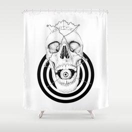 Skull III Shower Curtain