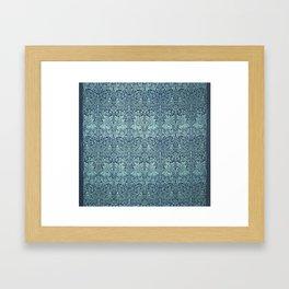 William Morris Printed Textile Brer Rabbit Framed Art Print