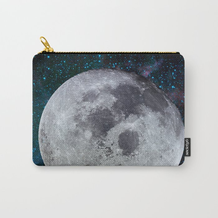Moon and the stars Carry-All Pouch