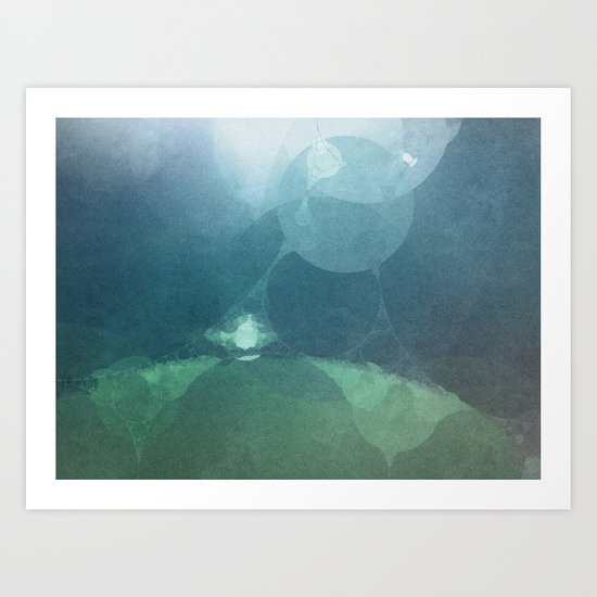 Above The Surface Art Print