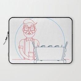 Coffee (lineart) Laptop Sleeve