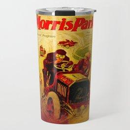 Morris Park Auto Race, vintage poster, race poster Travel Mug