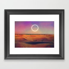 One Of Those Summer Days... Framed Art Print