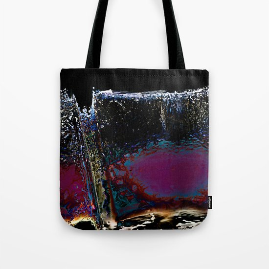 Wall of Night Tote Bag