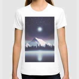 Lake at night T-shirt