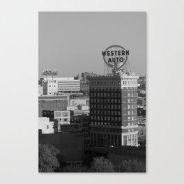 Western Auto Canvas Print